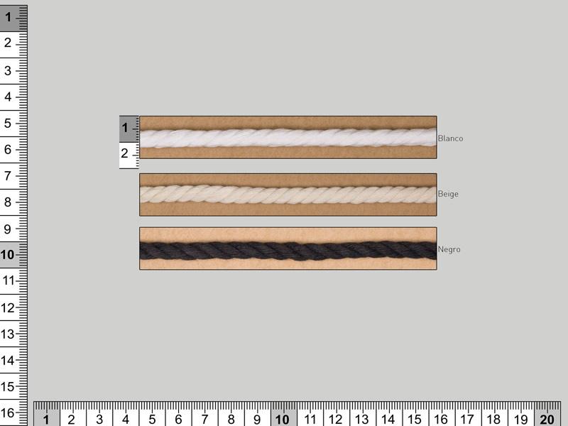 Cordón algodón, Cordón fraile, Ref 5710/150