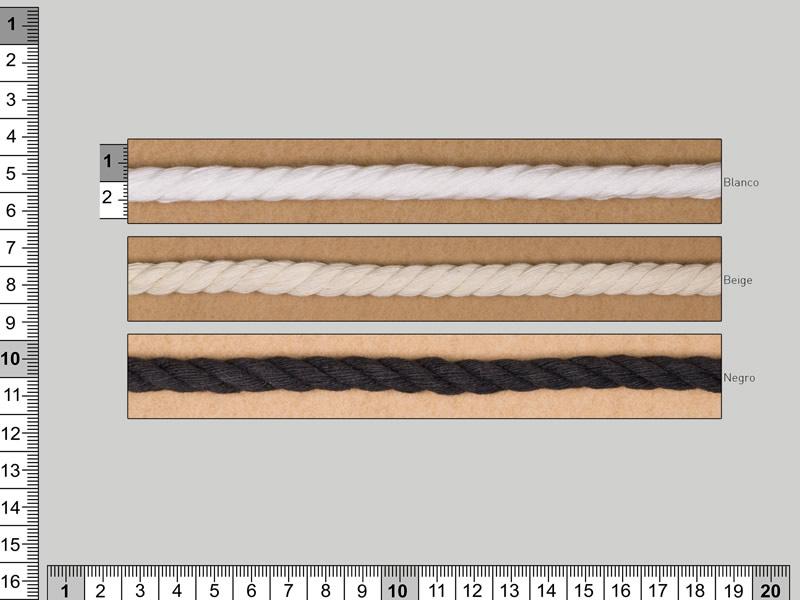 Cordón fraile, cordón algodón, Ref 5710/200