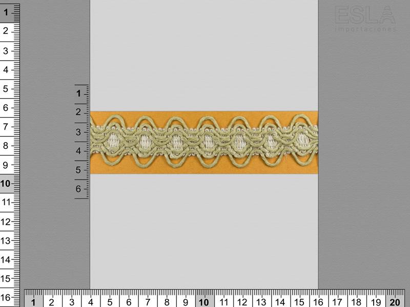 Galón algodón-lino, Ref 1372