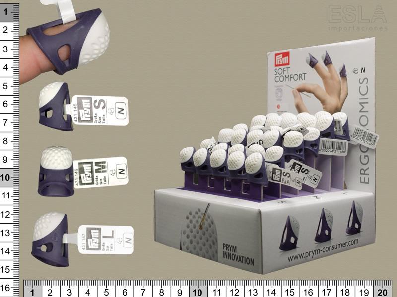 Expositor dedales ergonómicos, Soft comfort, PRYM, Ref 651750