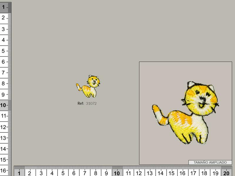 Termoadhesivo gato, Ref 31072
