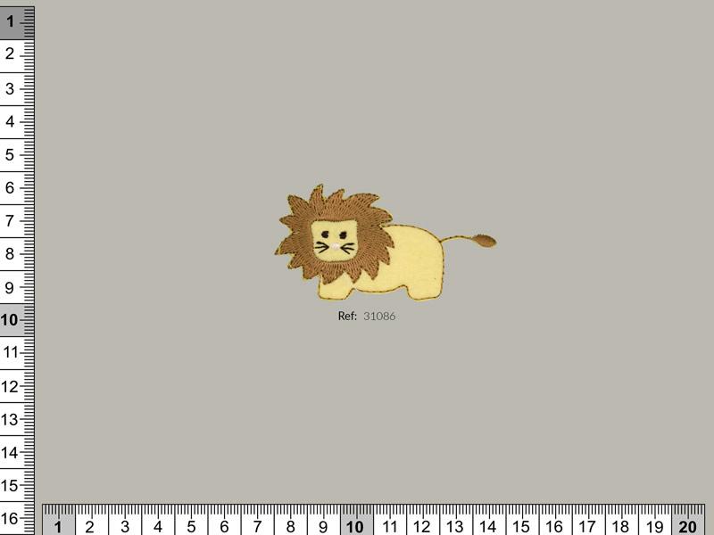 Termoadhesivo león, Familia 31065, Ref 31086