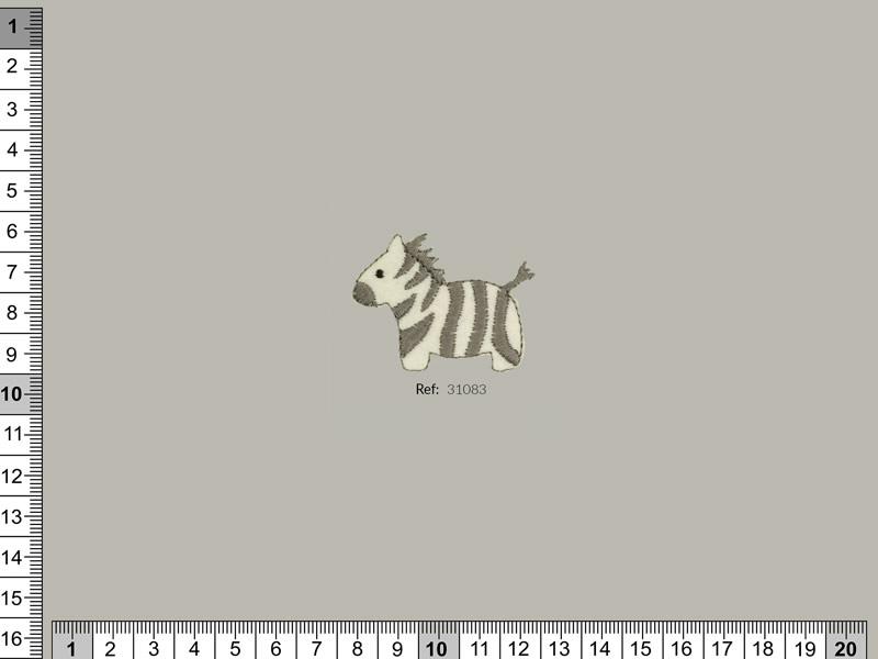 Termoadhesivo cebra, Familia 31065, Ref 31083
