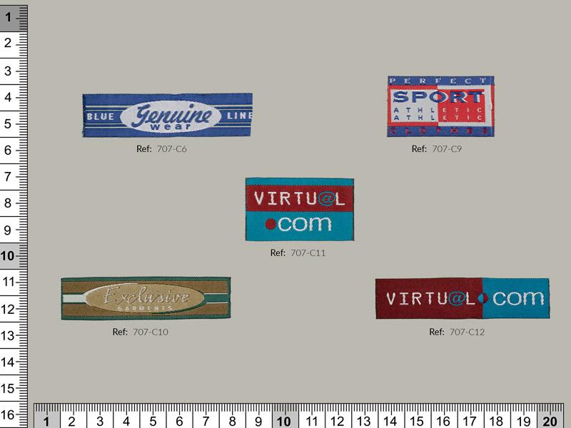 Etiquetas, Ref 707