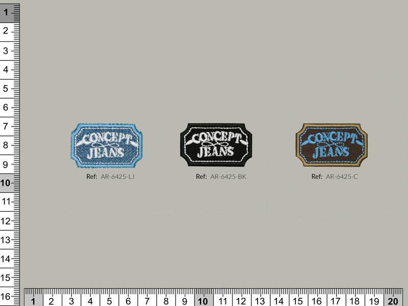 Termoadhesivo bordadp. Concept jeans, Ref 31072