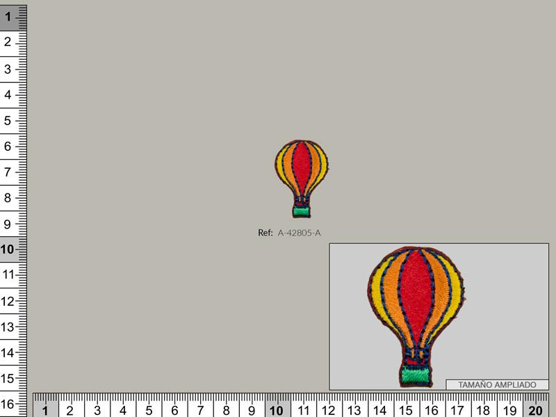 Termoadhesivo globo, Familia 30548, Ref A-42805-A