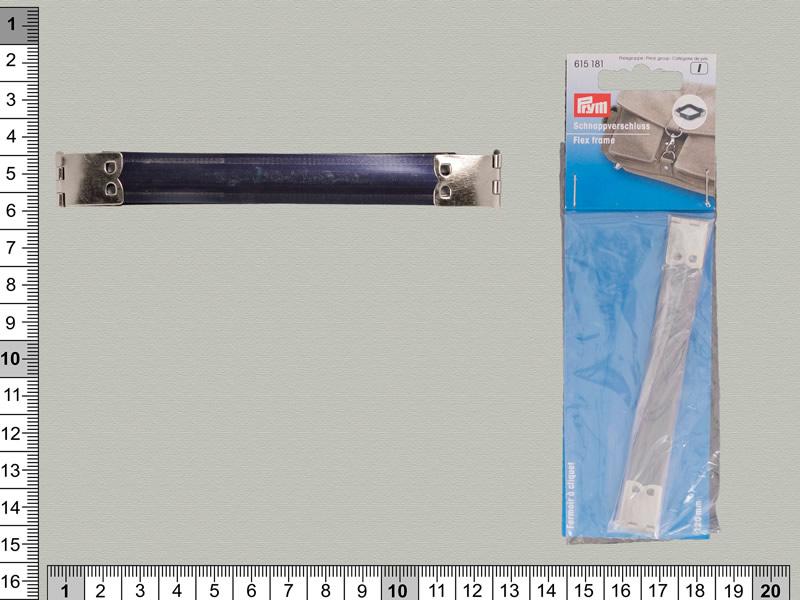 Cierre clip metálico 120mm, PRYM, Ref 615181