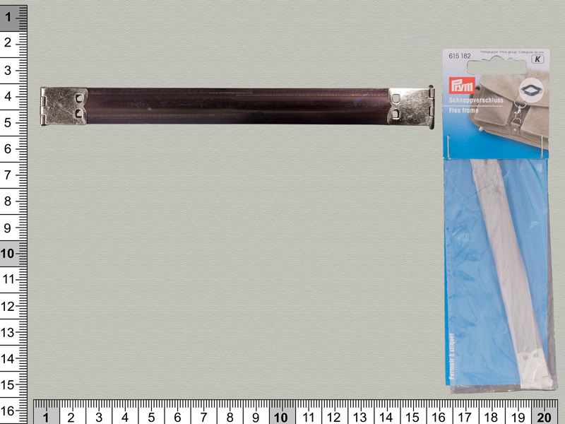 Cierre clip metálico 150mm, PRYM, Ref 615182