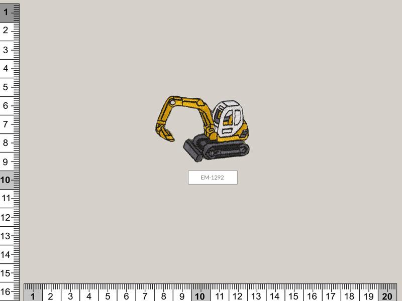 Termoadhesivo escavadora, Ref EM-1292