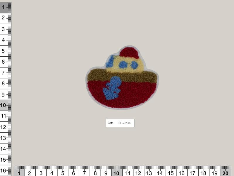 Termoadhesivo oso, Ref OF-6234