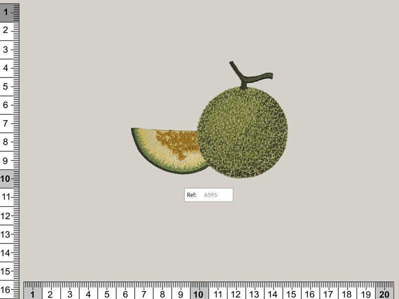Termoadhesivo melón, Ref 6595