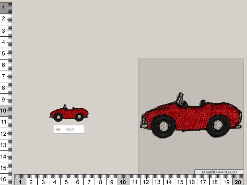 Termoadhesivo coche, Ref 6653