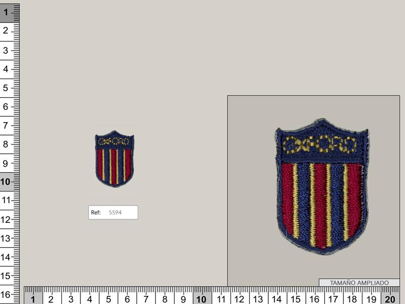 Termoadhesivo escudo oxford, Ref 5594