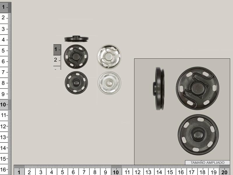 Automatico metálico, 23mm, Ref 250 / 350