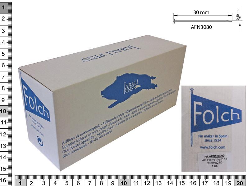 Alfiler hierro, El jabali, nº-18, ref AFN18800