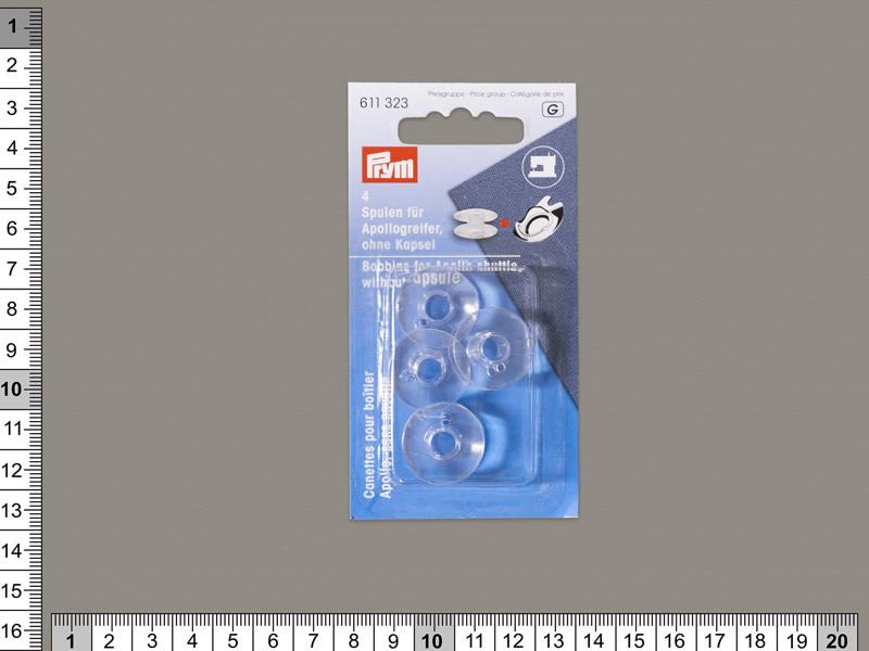 Canilla plástico, blister 4 unidades, ref 611323