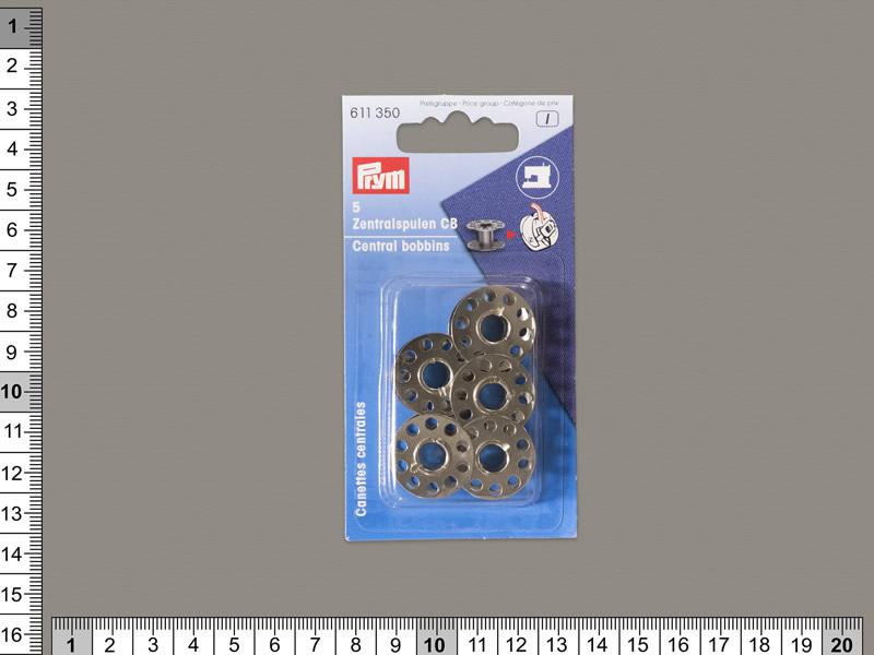 Canilla metal, PRYM, Blister con 5 canillas, ref 611352