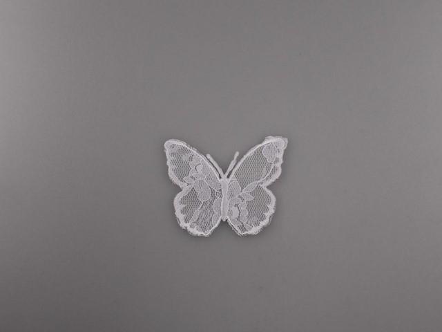 termoadhesivo mariposa de tul