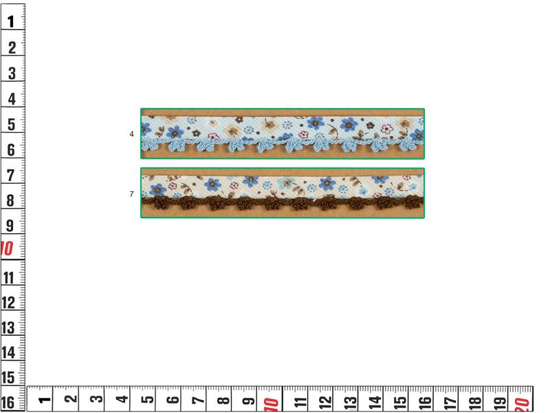 Bies Piquillo, Estampado de flores, Ref 243289