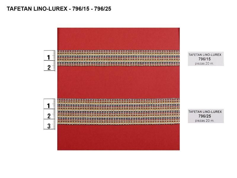 Tafetán lino y lurex 796/15 y 796/25