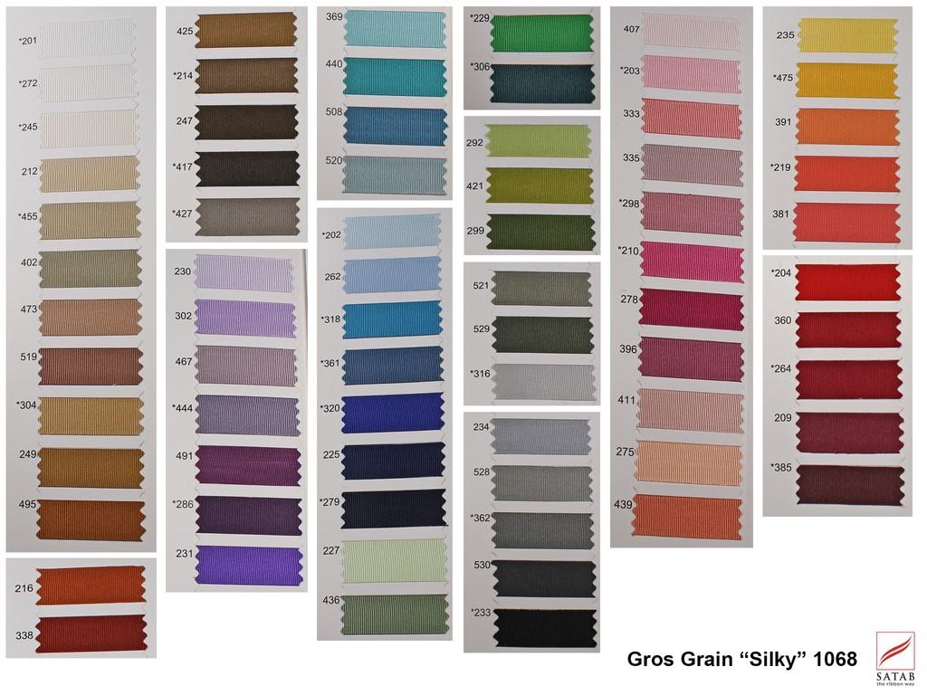 Cinta Gros Grain Silky 1068