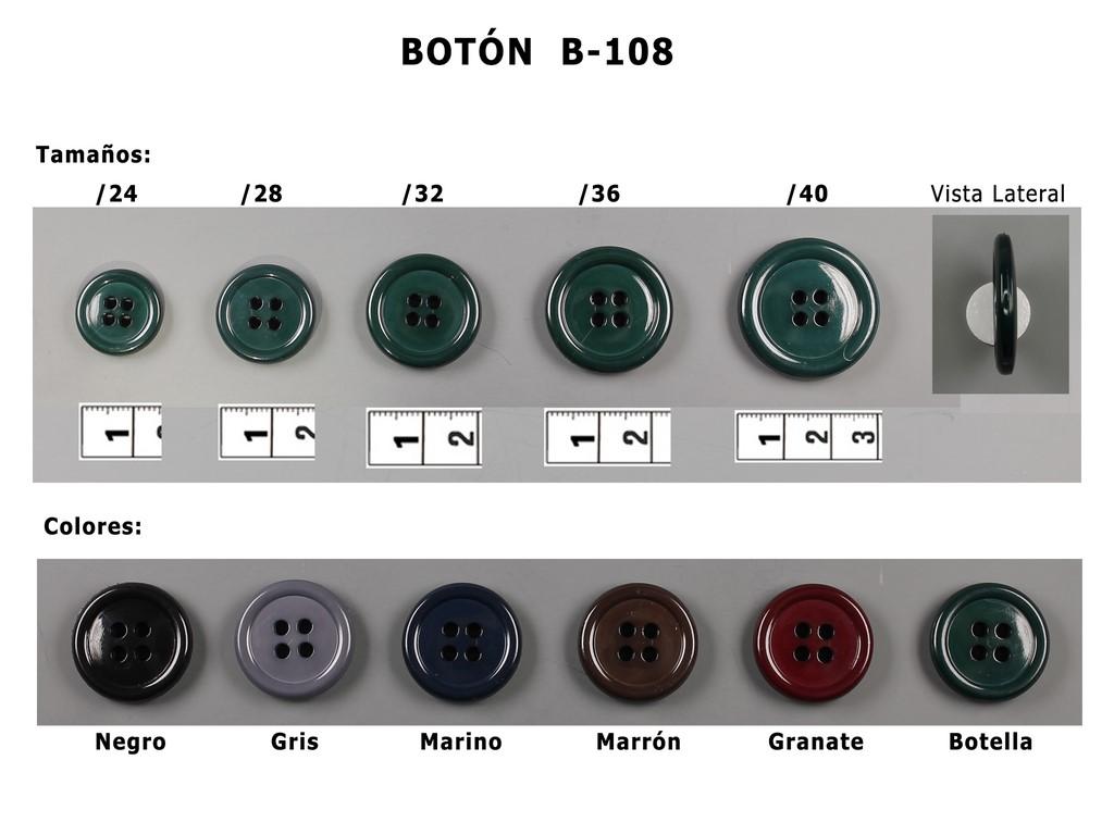 Botón B-108
