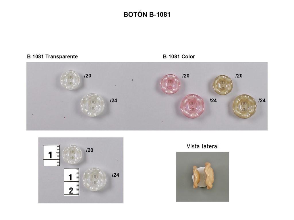 Botón B-1081