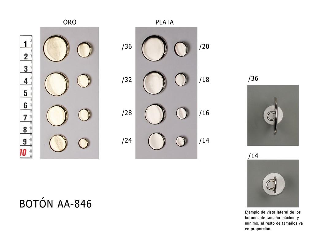 Botón metálico AA-846