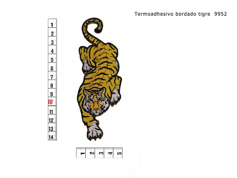 Termoadhesivo bordado tigre 9952