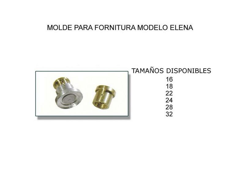 Molde para fornitura modelo Elena