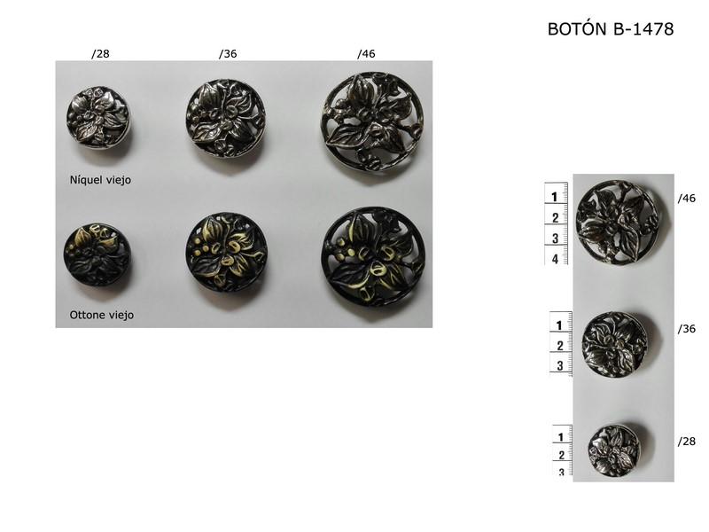 Botón metálico B-1478