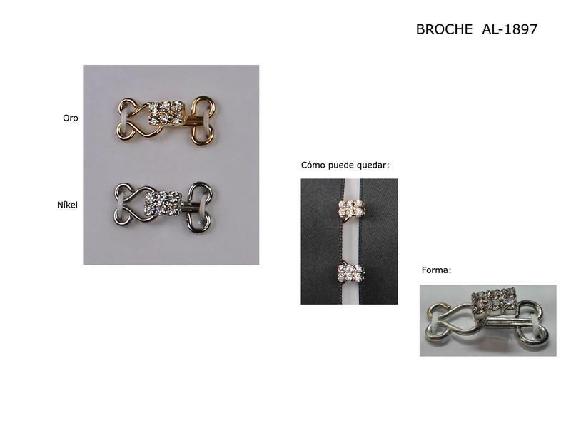 Broche metal AL-1897