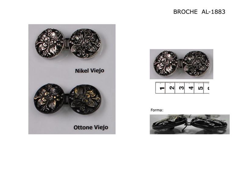 Broche metal AL-1883