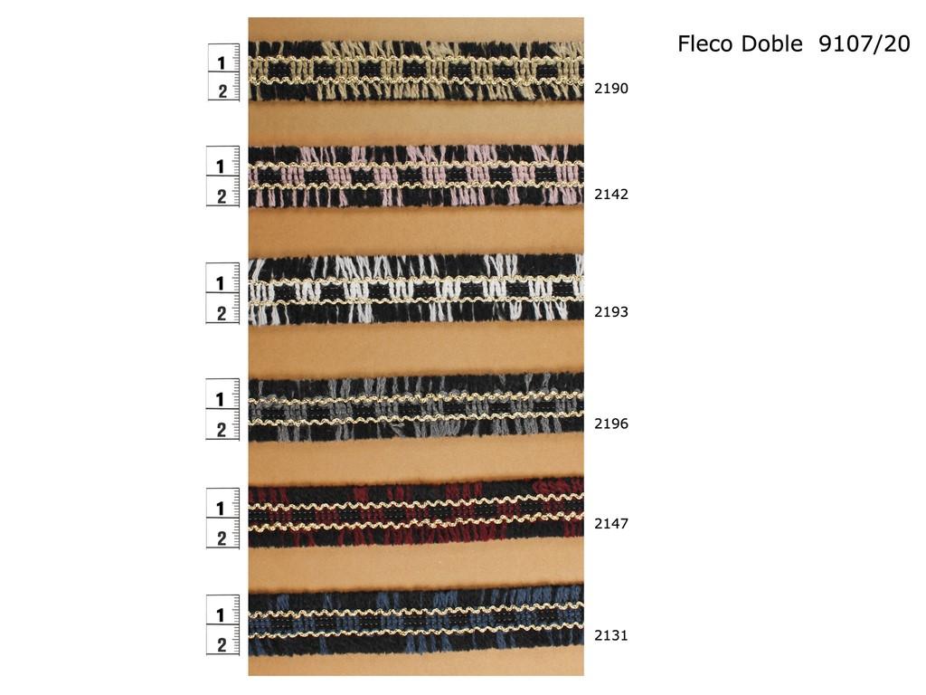 Fleco doble 9107/20