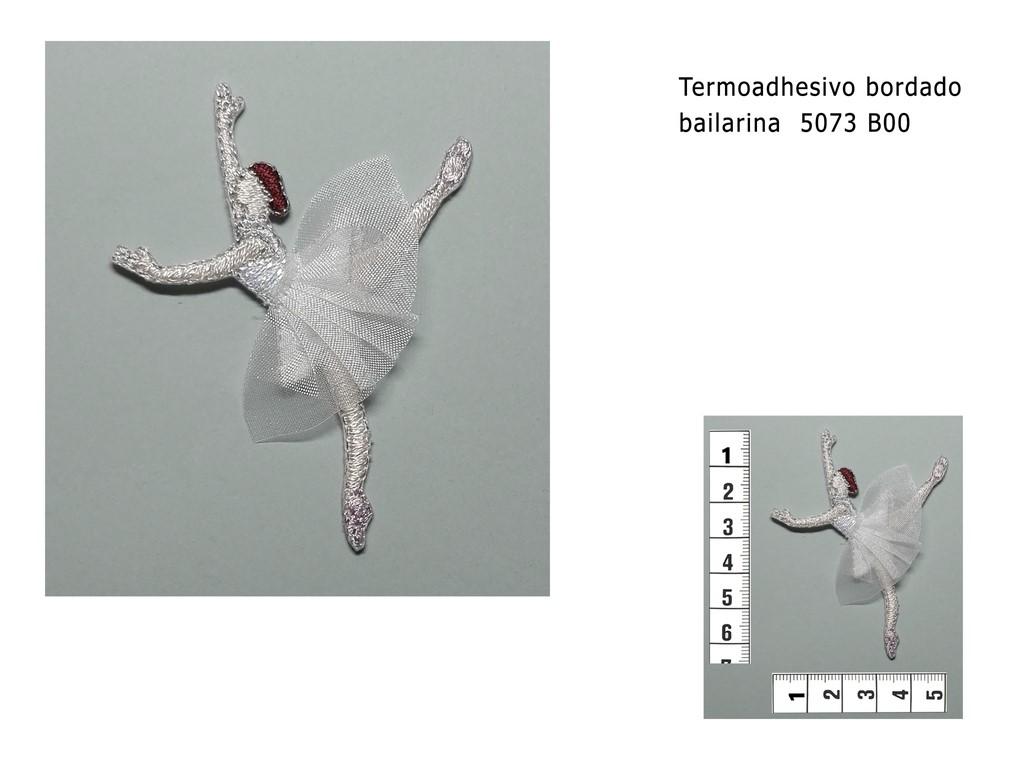 Termoadhesivo bordado bailarina 5073 B00