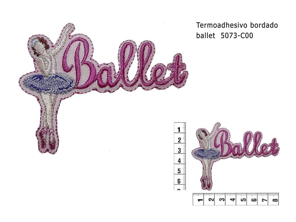 Termoadhesivo bordado ballet 5073 C00