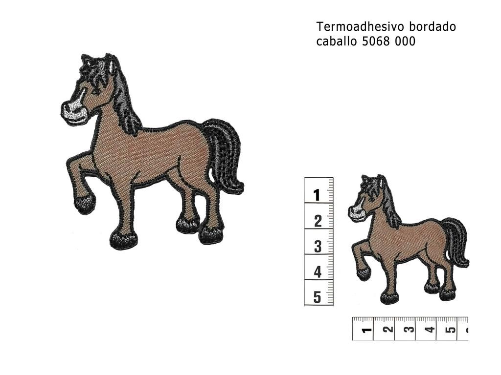 Termoadhesivo bordado caballo 5068 000