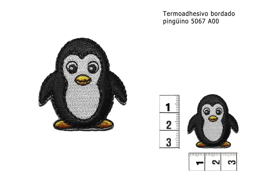 Termoadhesivo bordado pinguino 5067 A00