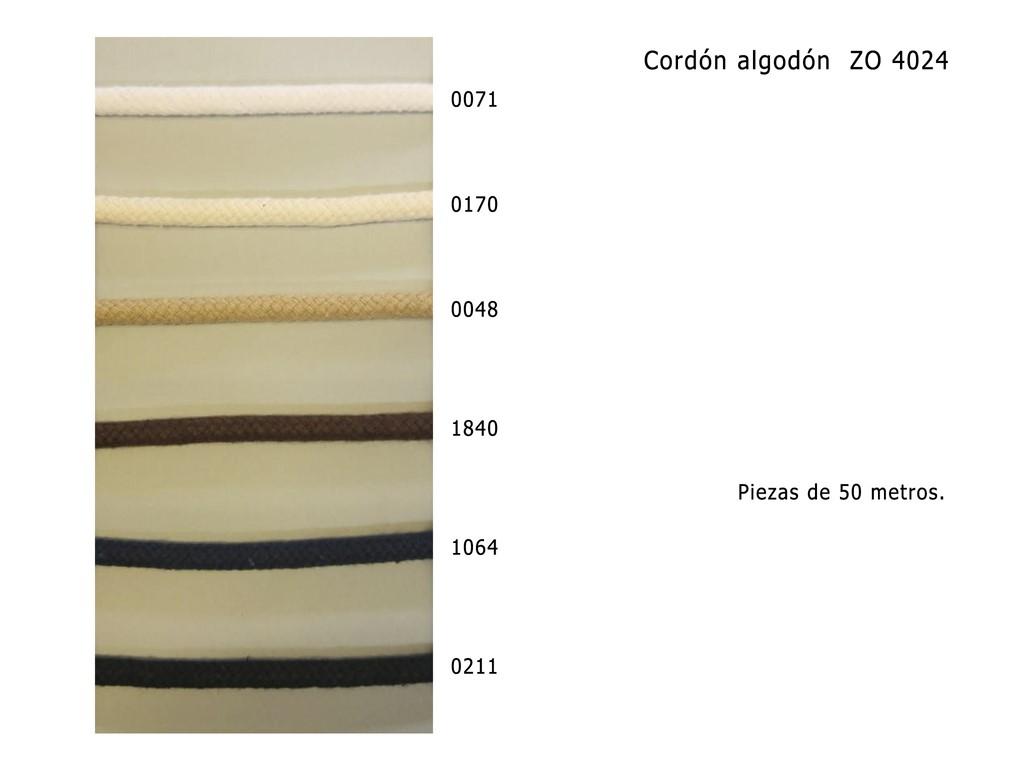 Cordon algodon ZO 4024