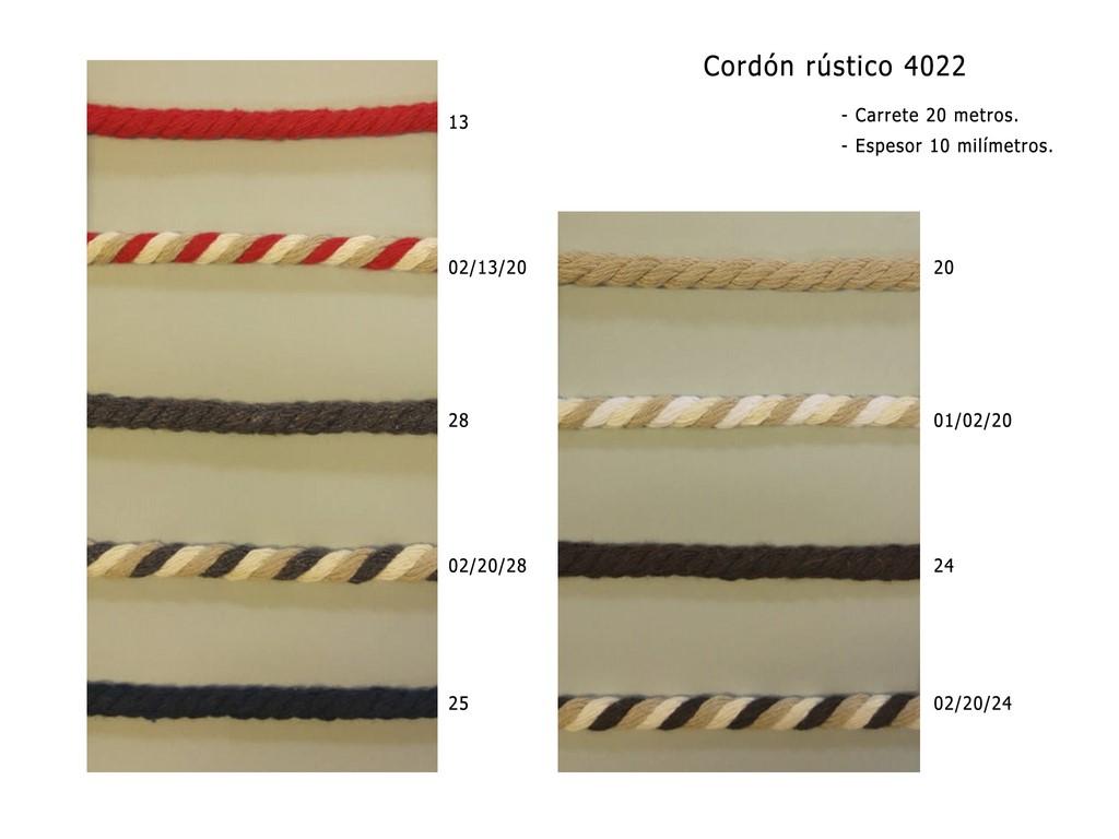Cordon rustico 4022