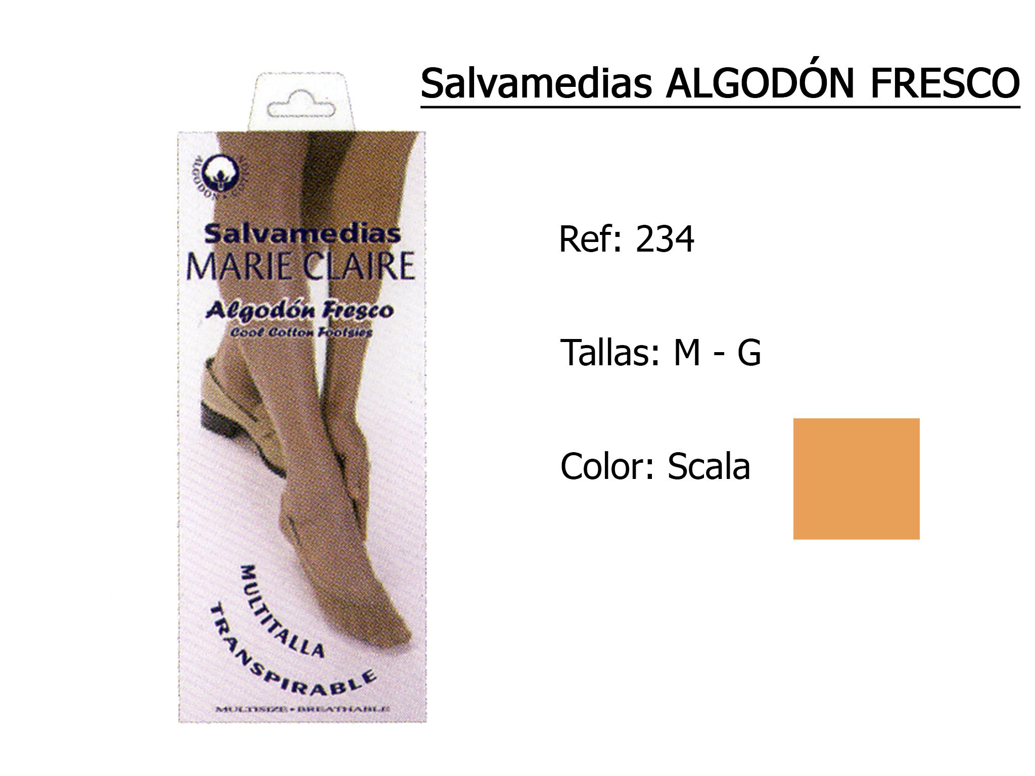 SALVAMEDIAS algodon fresco 234