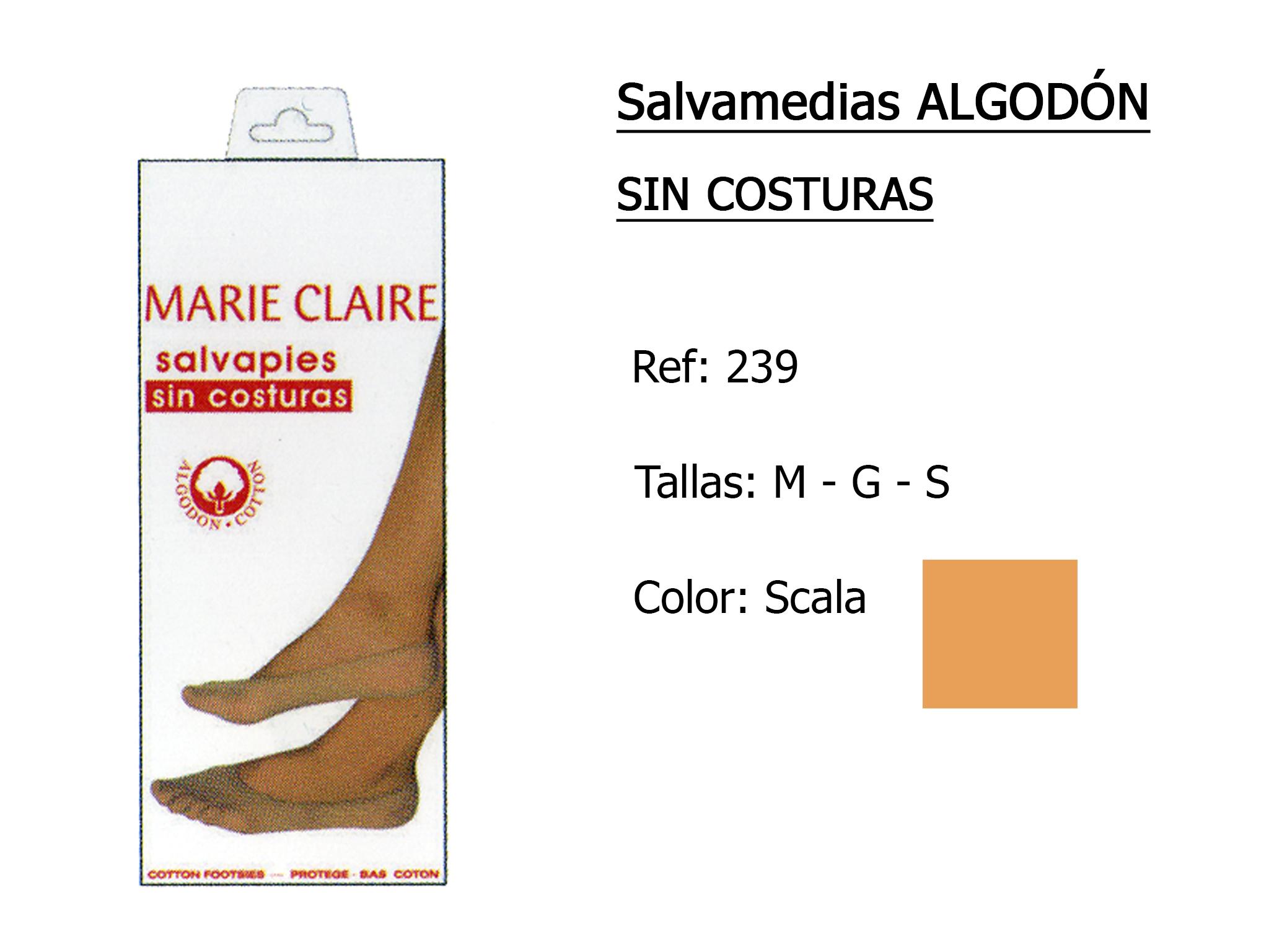 SALVAMEDIAS algodon sin costuras 239