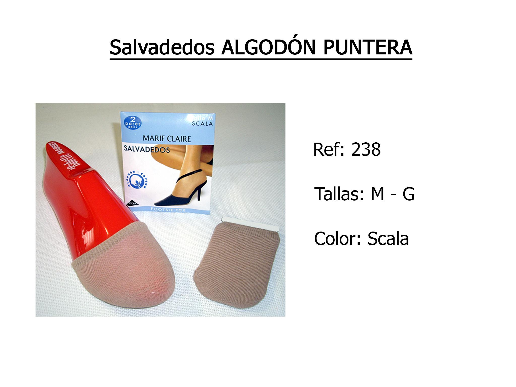 SALVADEDOS algodon puntera 238