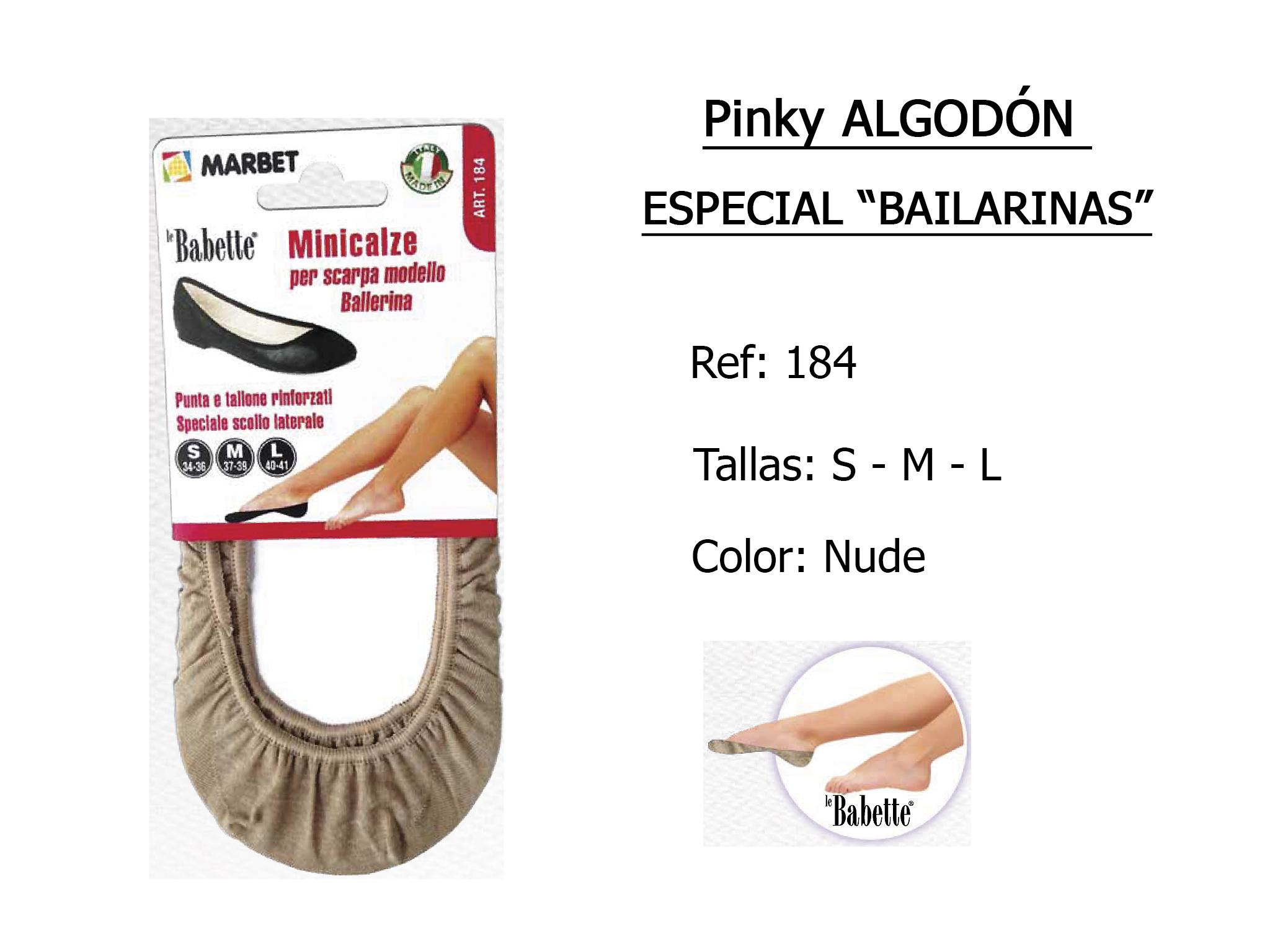 PINKY algodon especial bailarinas 184