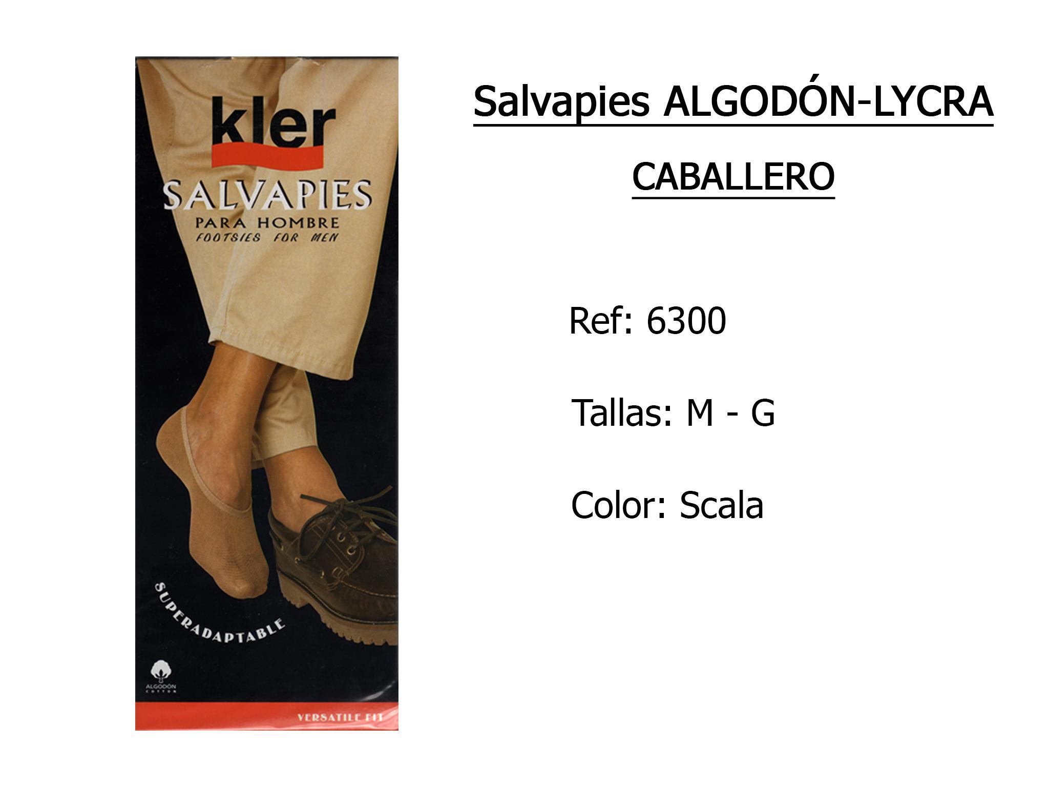 SALVAPIES algodon lycra caballero 6300