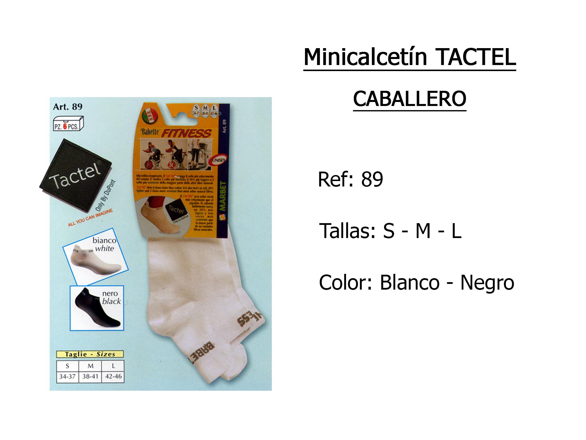 MINICALCETIN tactel caballero 89