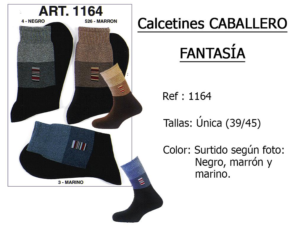 CALCETINES caballero fantasia algodon rizo 1164