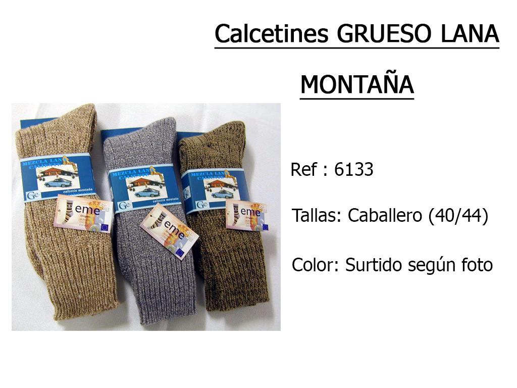 CALCETINES grueso lana motana 6133