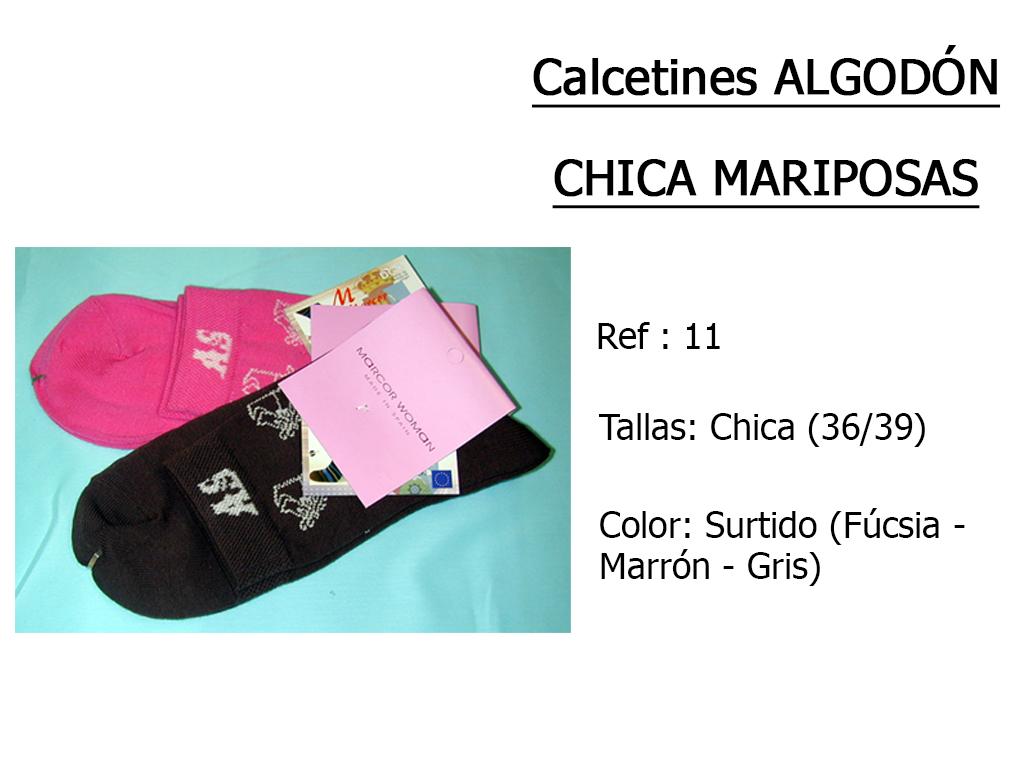 CALCETINES algodon chica mariposas 11