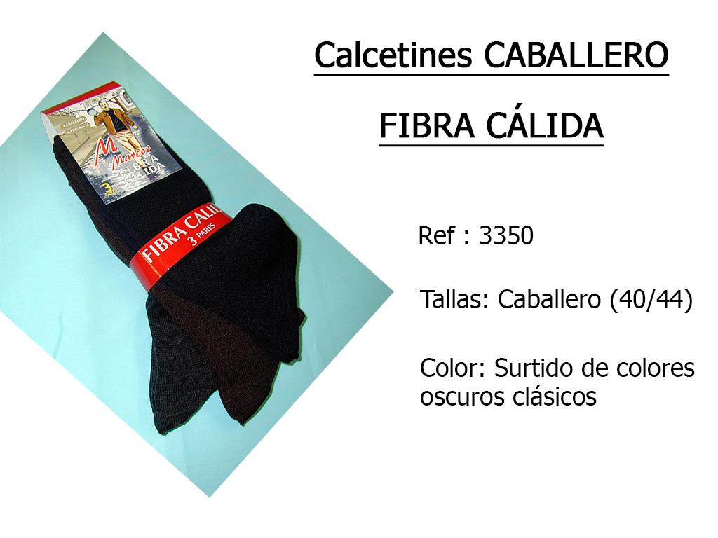 CALCETINES caballero fibra calida 3350